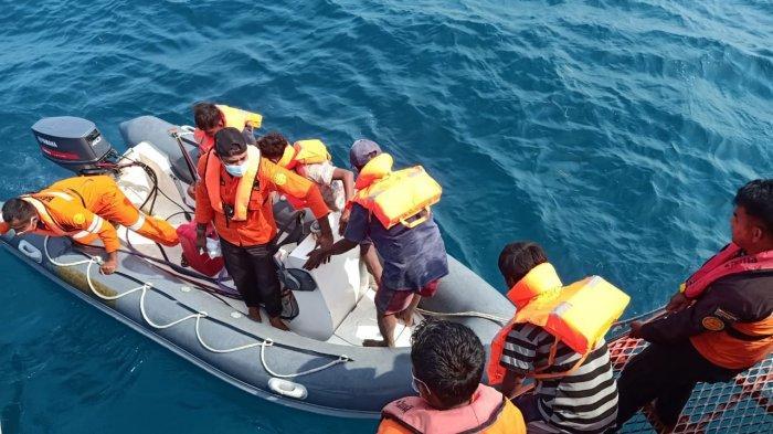 Perahu Alami Mati Mesin, 5 Nelayan Asal Kabupaten Rote Berhasil Dievakuasi Tim SAR