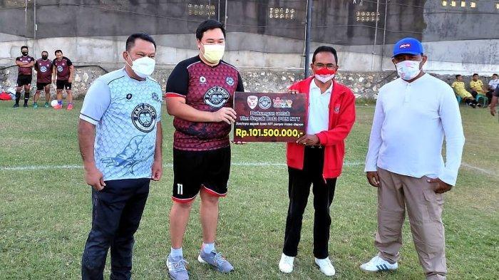 Tim Fary-Davo Sumbang Rp 101.500.000 Buat Sepakola PON NTT