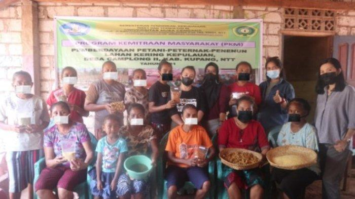 PKM FKH Undana Pemberdayaan Wanita Manfaatkan Bahan Lokal Terbuang Menjadi Pangan Berkualitas