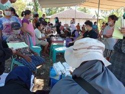 Tim Medis Dompet Dhuafa NTT Gelar Pos Medis dan Pembagian Hygine Kit di Lokasi Bencana
