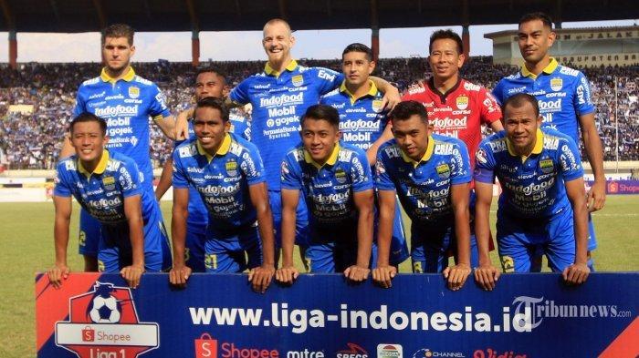 Maung Bandung Tanpa 2 Lini Belakang Andalan, Lihat Susunan Pemain Persib Bandung vs PSM Makassar