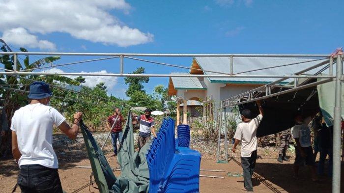 Tim Gabungan Satgas Covid-19 Manggarai Timur Tertibkan Sejumlah Hajatan Pesta