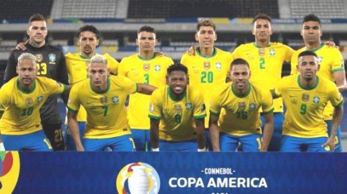 Daftar Nama Pemain di Line Up Brasil vs Peru di Semifinal Copa America 2021, Partai Balas Dendam