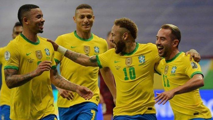 Klasemen Copa America 2021 - Brasil di Puncak & Belum Pernah Kebobolan, Kolombia Terpeleset