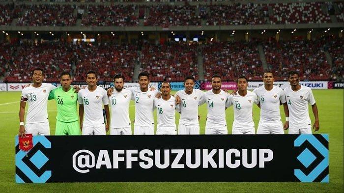 Hasil Indonesia vs Singapura di Piala AFF 2018, Babak Pertama Indonesia Kena Gilas 1-0