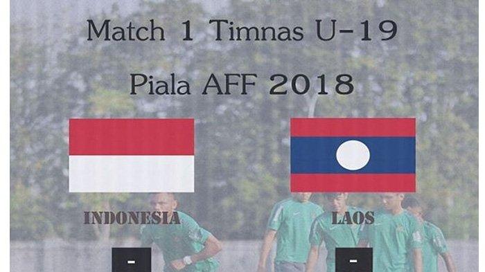 LIVE Streaming Indosiar Pukul 18.30 WIB Malam Ini, Timnas Indonesia U-19 vs Timnas U-19 Laos
