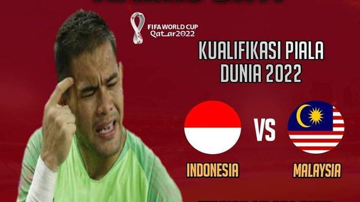 Live Streaming Mola TV Timnas Indonesia vs Malaysia Kualifikasi Piala Dunia 2022, Selasa (19/11/2019).