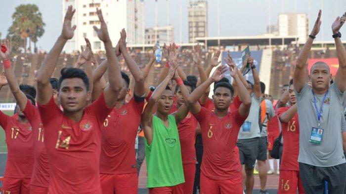 Final Piala AFF U-22 2019, Hasil Babak Pertama Indonesia vs Thailand 0-0