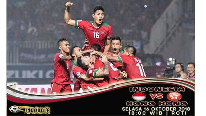 LIVE Streaming RCTI Timnas Indonesia vs Hongkong Pukul 18.00 WIB Malam Ini