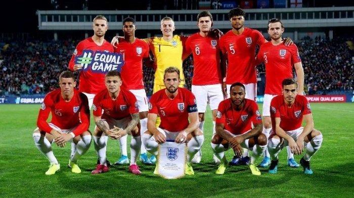 Timnas Inggris menuju Piala Eropa 2020