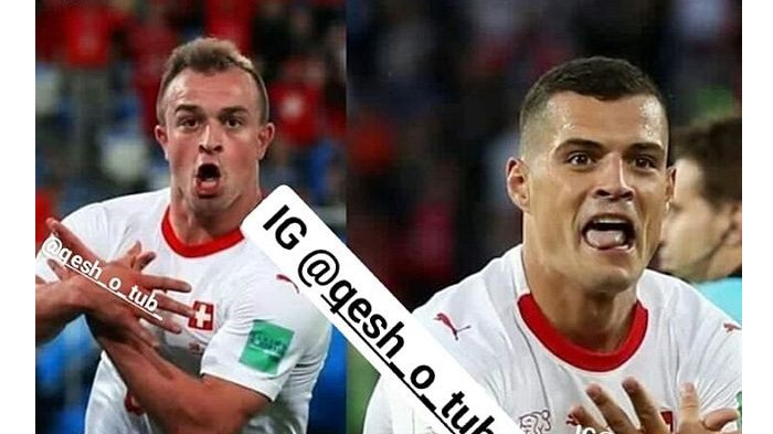LIVE Swedia vs Swiss Pukul 21.00 WIB Malam Ini, Fans Galang Dana untuk Granit Xhaka dkk