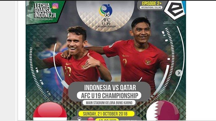 LIVE Streaming RCTI, Babak Kedua Timnas Indonesia Sudah Ketinggalan 1-5 dari Qatar