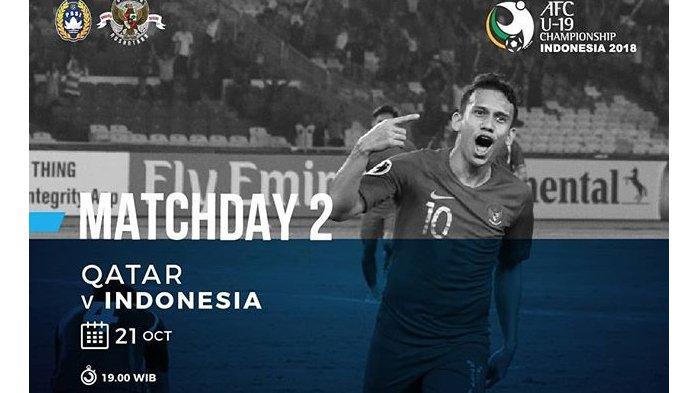 Link Live Streaming RCTI Timnas Indonesia vs Qatar Pukul 18.30 WIB Malam Ini