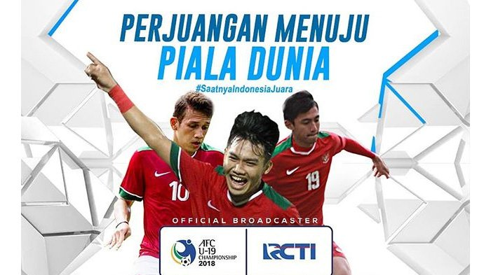 Live Streaming RCTI Timnas U-19 Indonesia vs Qatar, Sudah Kick Off