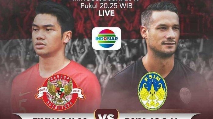 Timnas U-23 Indonesia vs PSIM Yogyakarta