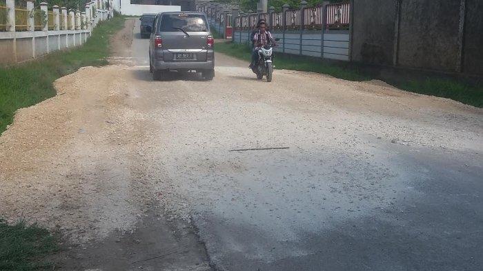 Titik Kerusakan Jalan di Penfui Timur Sudah Ditutupi Sirtu