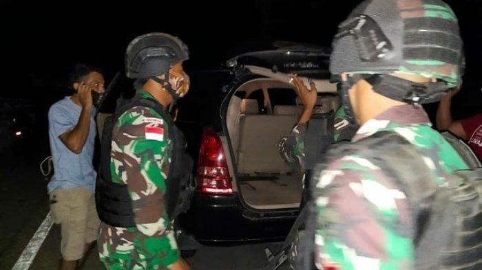 TNI Sweeping di Perbatasan Jelang Natal