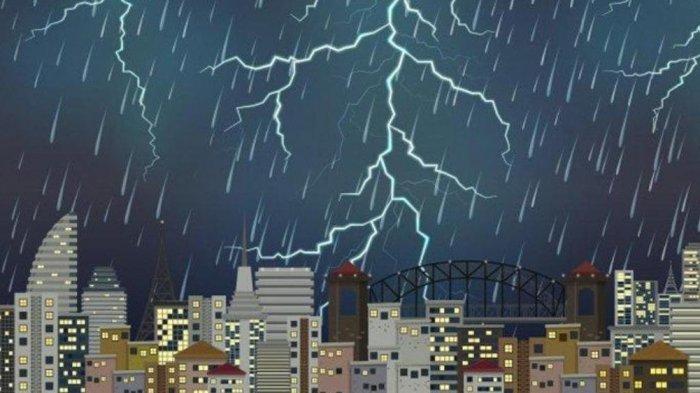 INFO BMKG Hari ini Selasa 25 Mei 2021: 20 Wilayah Ini Berpotensi Terjadi Cuaca Ekstrem