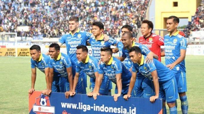 Persib Bandung Turun Satu Tingkat, Persipura Geser Borneo FC, Lihat Klasemen Liga 1 2019