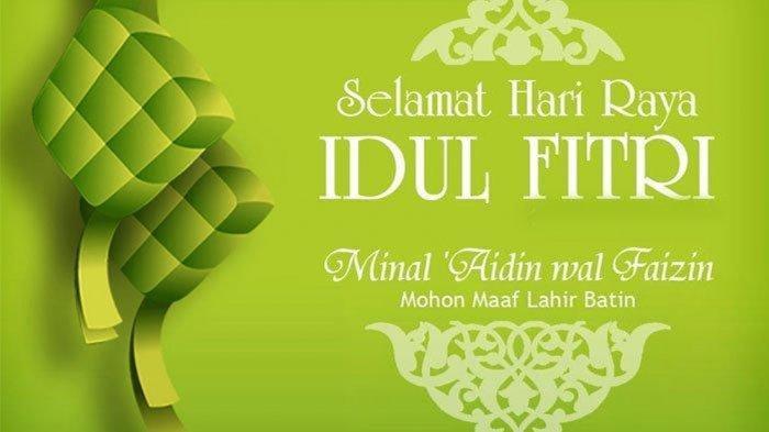 Deretan Ucapan Selamat Hari Raya Idul Fitri 2020 dalam ...