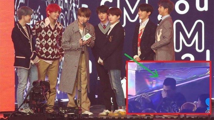 Jungkook BTS Sampaikan Pidato Kemenangan di MelOn Music Awards 2018, Seorang Staff BTS Menangis
