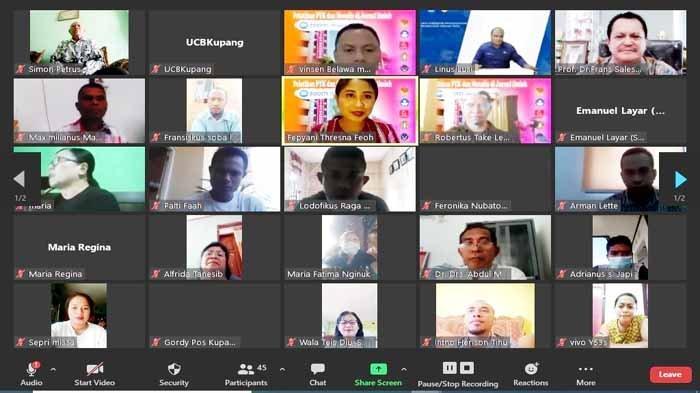UCB Kupang Gelar Pelatihan PTK dan Menulis Karya Ilmiah bagi Para Guru di NTT
