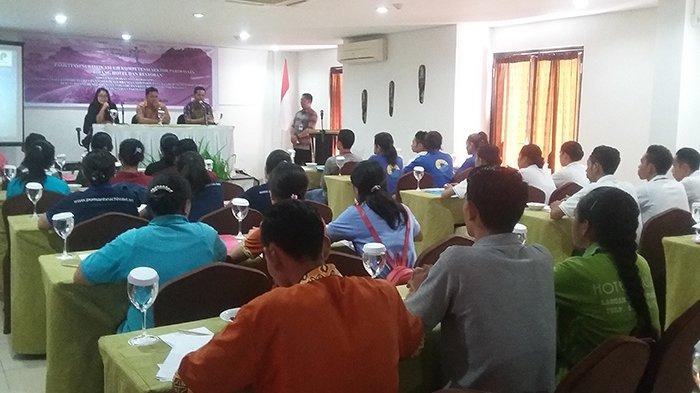 LIVE STREAMING : Karyawan Hotel dan Restaurant di Labuan Bajo Ikut Ujian Sertifikasi Profesi