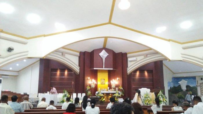 Ini Pesan Misa Perayaan Kamis Putih di Gereja Paroki Assumpta Kupang