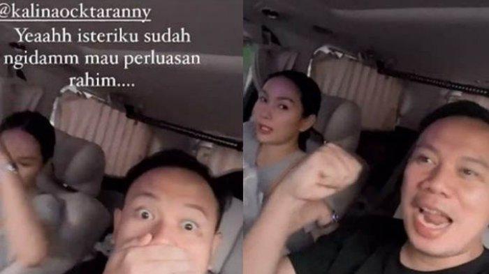 Dikabarkan Hamil dan Ngidam Barang Tak Biasa, Vicky Prasetyo Ungkap Ada yang Aneh Sama Kalina, Apa?