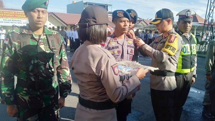 Polres Manggarai Gelar Pasukan Pengamanan Lebaran 2019