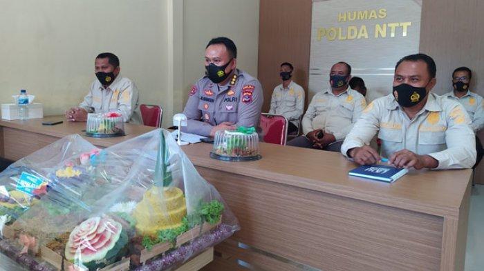 Upacara Ulang Tahun Humas Polri ke-69 Dilaksanakan Secara Virtual di Polda NTT