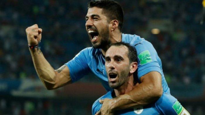 Jadwal Perempat  Final Piala Dunia 2018. Jumat Ini, Timnas Uruguay v Prancis Live di Trans 7