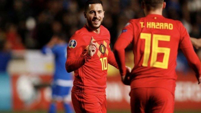 Hasil EURO 2020 Grup B, Menang Lawan Denmark, Belgia Susul Italia di 16 Besar, Klasemen Euro 2020