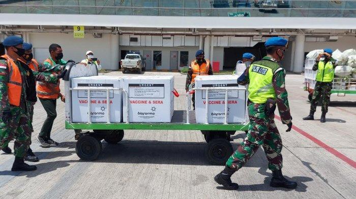 Distribusi Vaksin Tahap Pertama Bagi Nakes Seluruh Kabupaten di NTT Rampung