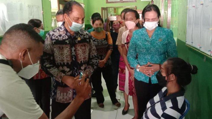 Bumil Mulai Divaksin Covid-19 Pada 25 Puskesmas di Kabupaten Sikka