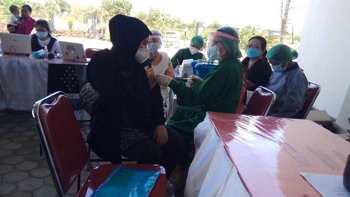 Ibu Hamil di Kupang Senang Bisa Dapat Vaksinasi Covid-19