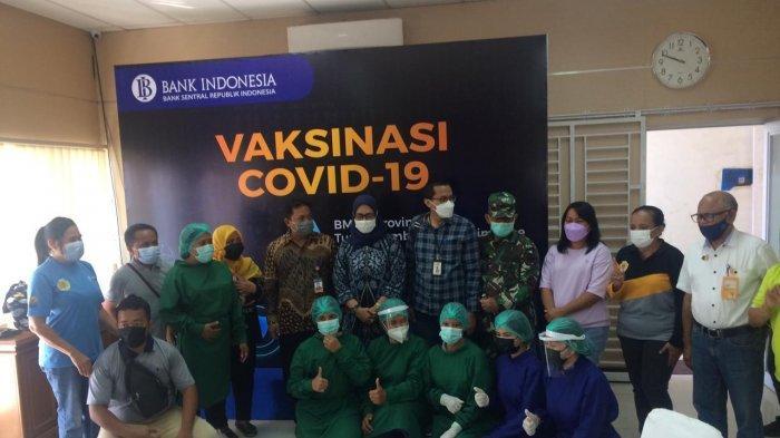 Rangkaian Kegiatan Bank Indonesia, dari Fasilitasi Vaksin hingga Gerakan Peduli Bencana Seroja