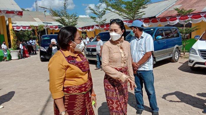 Ketua TP PKK NTT Sambangi SMKN 5 Kupang untuk Program Vaksin Goes To School