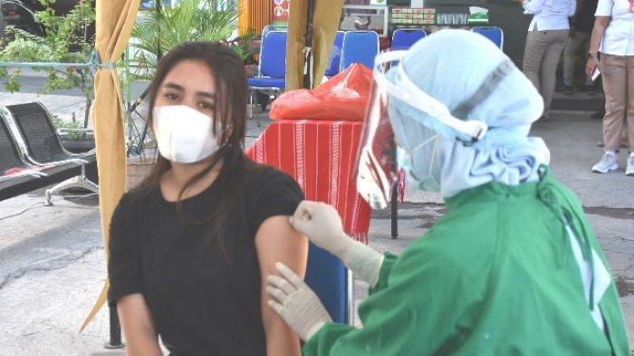 PMI Kota Kupang Gandeng Pegadaian Syariah Vaksin 1000 Warga