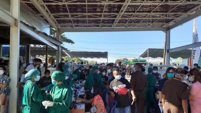 20 Lebih Vaksinator Diturunkan Kejati NTT untuk 1250 Peserta Vaksin