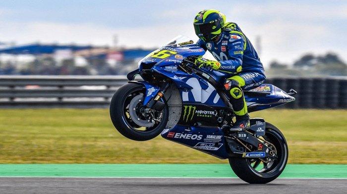 Live MotoGP Thailand 2018, Valentino Rossi Berada di Posisi Kedua, Adakah Kembali Jaya?