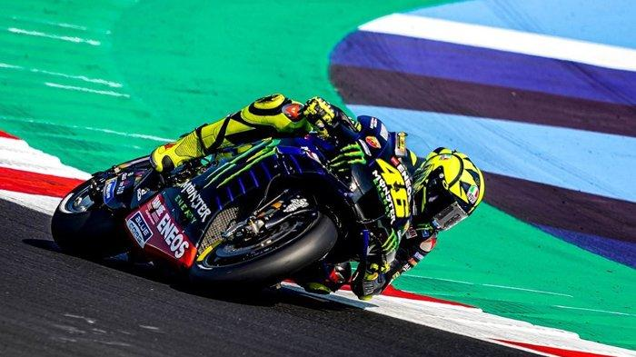 Hasil Kualifikasi MotoGP Valencia 2020: Valentino Rossi Start Posisi 16, Morbidelli Pole Position