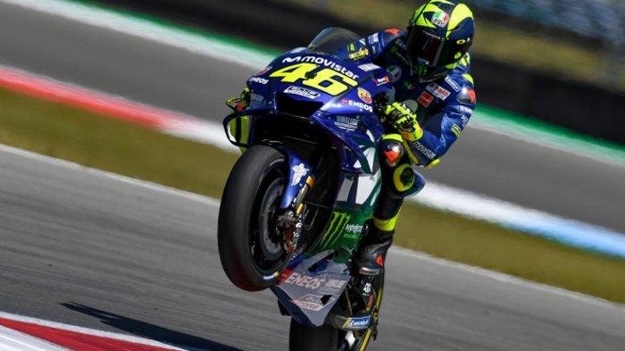 MotoGP Ceko 2018 - Meski Start di Posisi Kedua, Valentino Rossi Prediksi Bakal Menderita Gegara ini