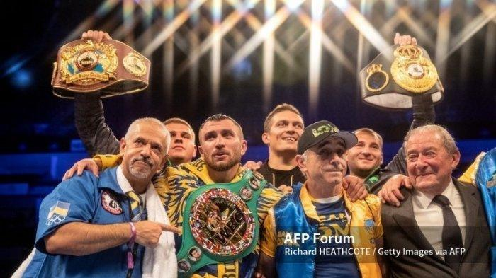 Video Perbandingan All Knockouts Vasyl Lomachenko & Teofimo Lopez Tinju Dunia Hari Ini Live TV One?