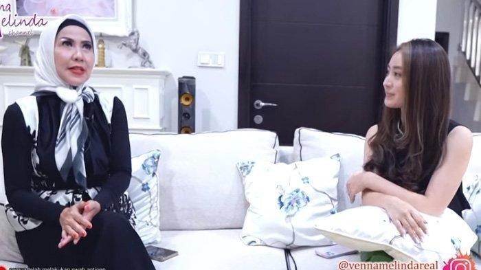 Venna Melinda tanya Natasha Wilona soal ajakan nikah dari Verrell Bramasta.