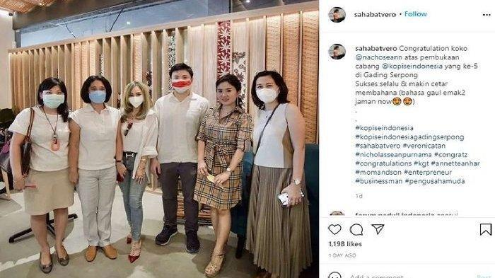 Veronica Tan dan Nicholas Sean Bagikan Kabar Bahagia, Penampilan Mantan Istri Ahok Tuai Pujian