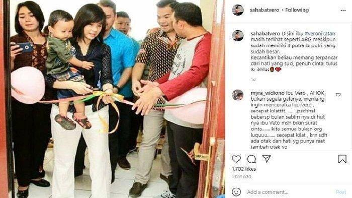 Veronika Tan Semakin Memikat Hati, Sang Putra Sebut Ini Andai Waktu Bisa Berputar, Apa Jawaban Ahok?