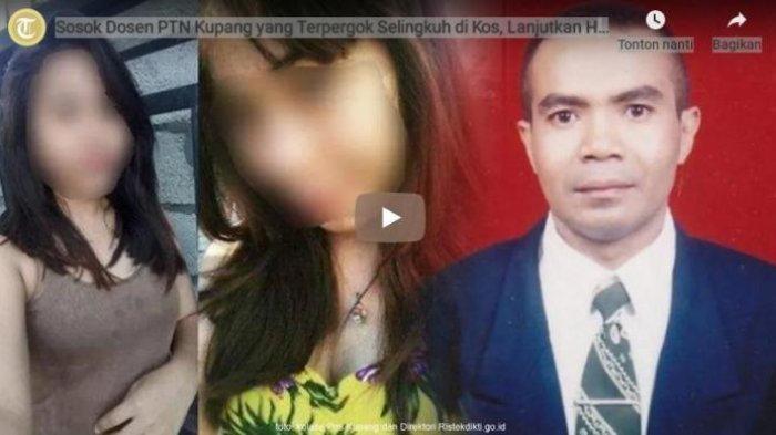 Pasca Ketahuan Selingkuh dengan Mahasiswinya, Dosen LL di Kupang Tak Pernah Masuk Kampus Lagi