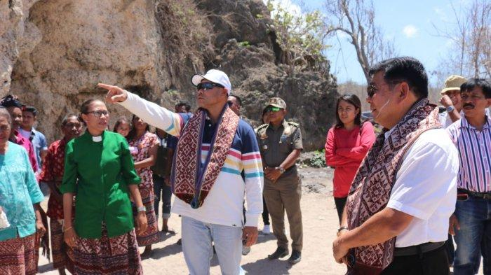 Geliat Potensi Pariwisata Kabupaten Kupang,Pantai Haubenkase yang Menawan di Amarasi Barat