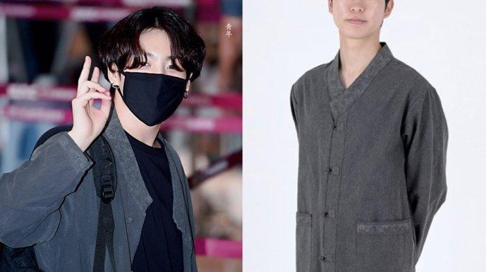 Viral Jungkook Pakai Hanbok Saat di Bandara, Ternyata Segini Harganya! ARMY Terkejut!